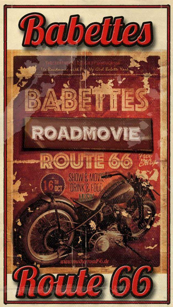 Kino Poster 4 Route 66